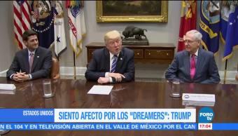 Siento Afecto Dreamers Trump Eliminar Programa Migratorio Daca