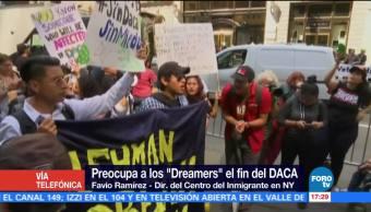 Dreamers Saldrán Calles Defender Programa Daca Favio Ramírez, Dir Del Centro Del Inmigrante En Nueva York
