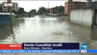 Bajan Nivel Inundacion Cuautitlan Izcalli