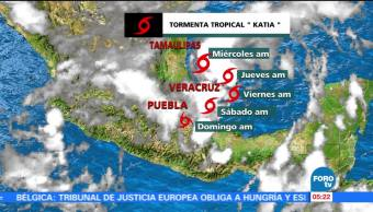 Depresión, tropical, tormenta, tropical