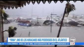 Huracán, Irma, poderosos, Atlántico
