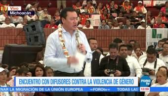 Osorio Chong Encabeza Michoacán Convenio