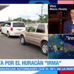 Florida se prepara para llegada de 'Irma'