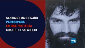 Santiago Maldonado la desaparición forzada de Argentina