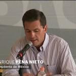 EPN pide ayuda de empresarios para la reconstrucción