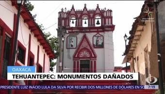 monumentos, históricos, Tehuantepec, sismo