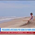 Pescadores chiapanecos afectados por el sismo
