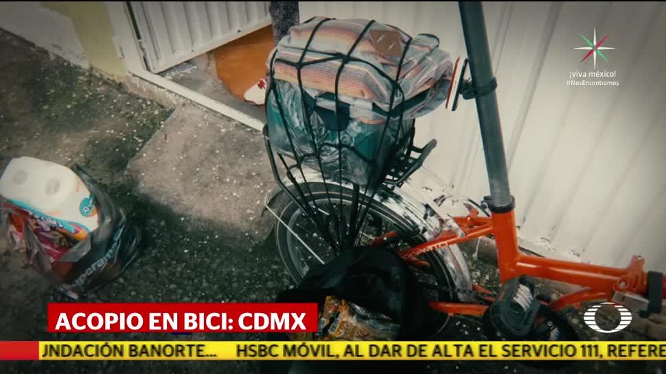 Acopio en bici en la CDMX