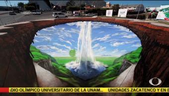 Edgar Müeller pintará murales tridimensionales en la CDMX