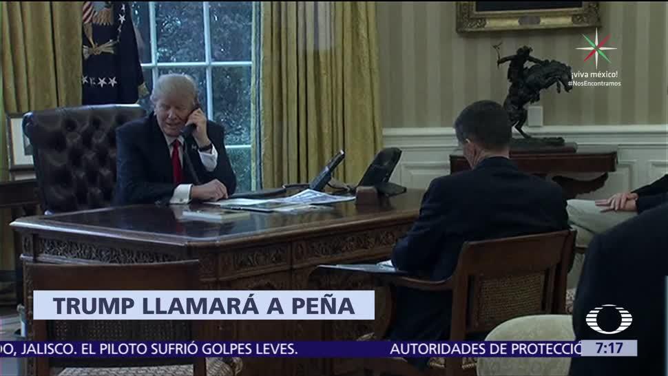 Donald Trump Llamará EPN Sismo