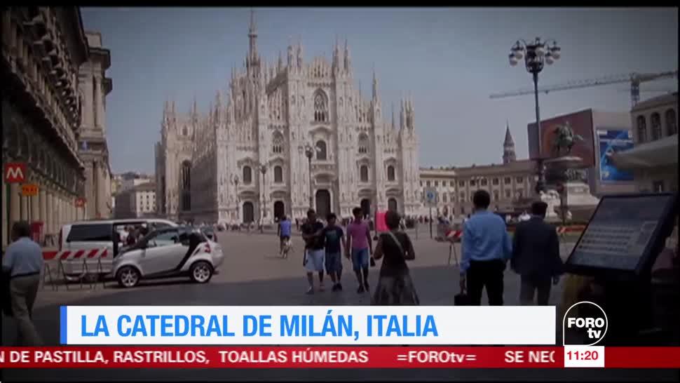 La, Catedral, de, Milán