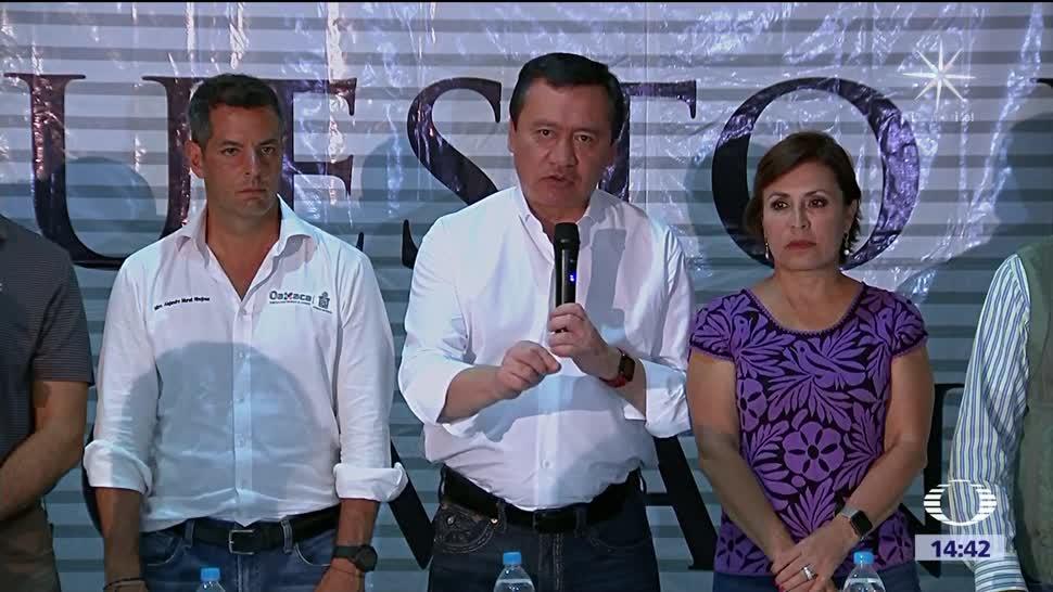 Advierte Osorio que no habrá lucro electoral con tragedia por sismo
