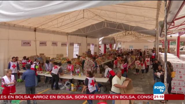 Voluntarios de la Cruz Roja una labor fundamental