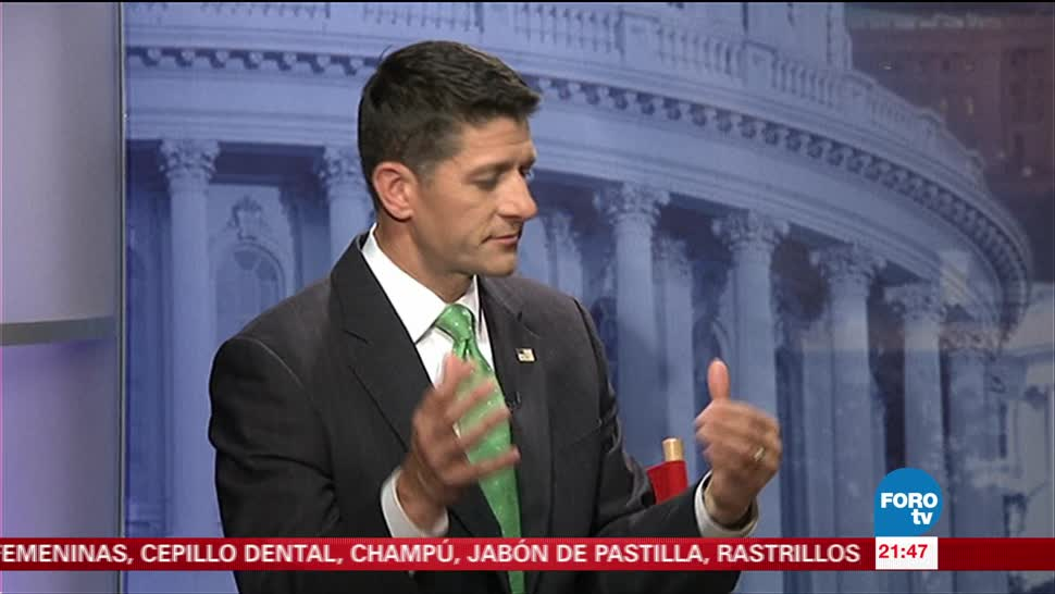 Deportar dreamers no favorece intereses de EU: Paul Ryan