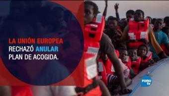 Hungría y Eslovaquia recibirán a miles de refugiados