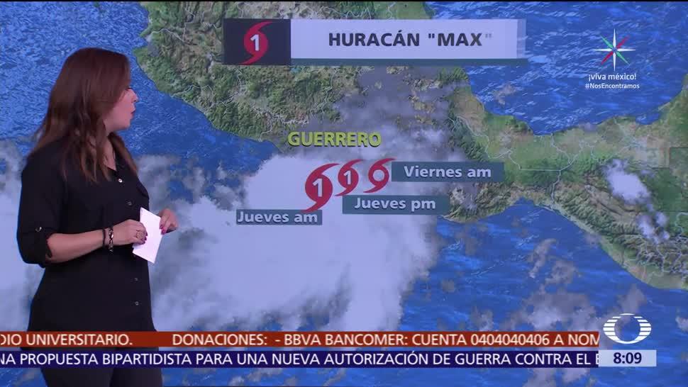 Clima Al Aire: 'Max' ocasionará lluvias en Michoacán, Guerrero y Oaxaca