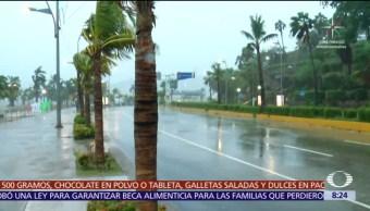 Acapulco, en espera del impacto del huracán 'Max'