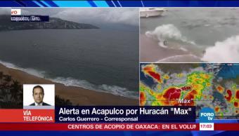 Lluvias e inundaciones por huracán Max en Acapulco