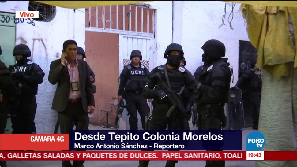 Incautan mercancía durante operativo en Tepito