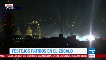 Festejos Patrios En El Zócalo de la CDMX