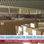 Ejército concentra ayuda para damnificados en Ixtepec