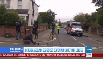Detienen a segundo sospechoso del atentado en metro de Londres