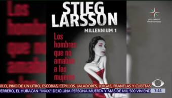 Despierta con Cultura: David Lagercrantz mantiene viva la saga de Stieg Larsson