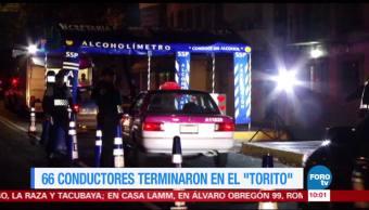 Extra, Extra: 66 conductores terminaron en el 'torito'