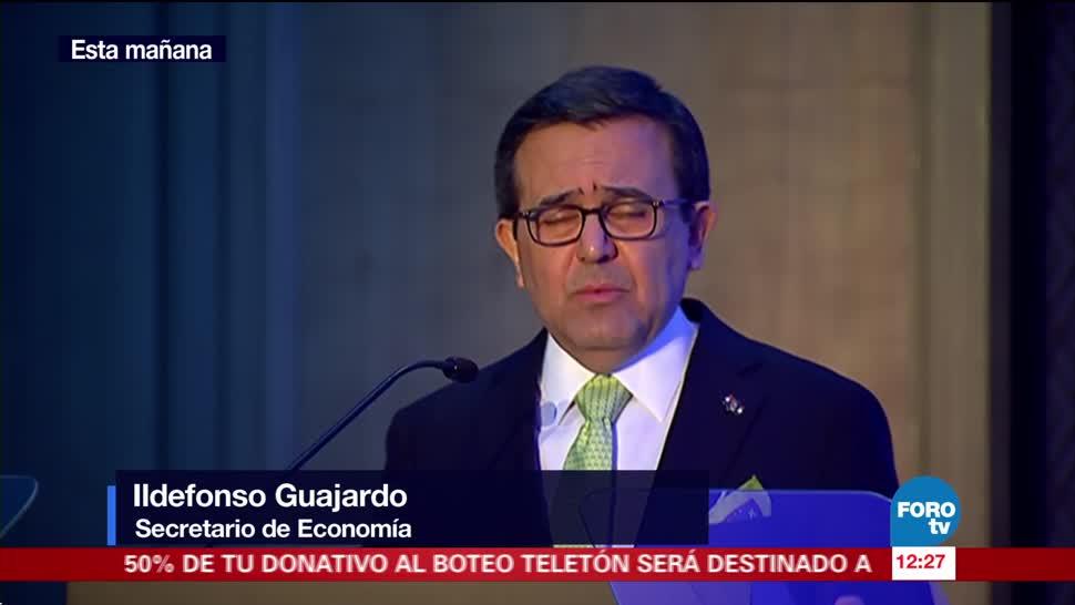Ildefonso Guajardo habla de la renegociación del TLCAN