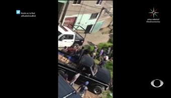 Intento de linchamiento en San Francisco Chimalpa Naucalpan