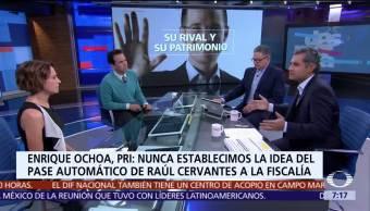Enrique Ochoa Reza habla en Despierta de la Fiscalía y Ricardo Anaya