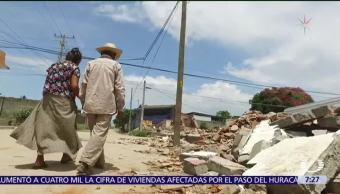 Chicapa de Castro, Oaxaca, vulnerabiliad al extremo