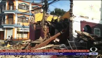 Conmemoran 32 años del sismo de 1985 en la CDMX