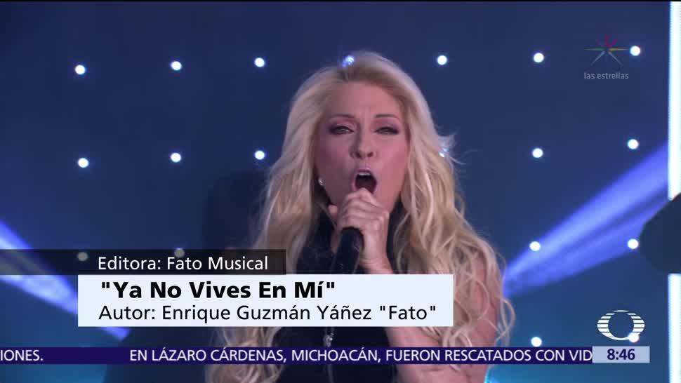Yuri canta en vivo Al Aire