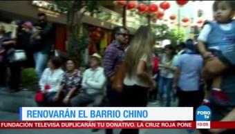Extra, Extra: Renovarán el Barrio Chino