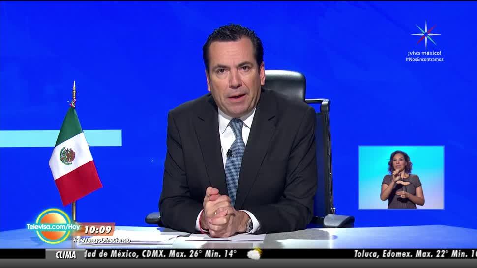 Las noticias en Hoy con Eduardo Salazar (Bloque 1)