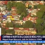 Confirman treinta personas muertas en la CDMX tras sismo