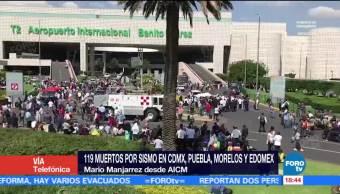 Reportan Diversos Daños Ambas Terminales Aicm