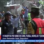 Secretarios federales se repartirán zonas de emergencia por sismos en el país