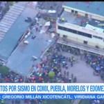 Continúa emergencia por colapso del colegio Rebsamen tras sismo