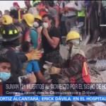 Hay 138 muertos hasta el momento por el sismo Luis Felipe Puente