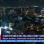 Alfredo del Mazo confirma 10 muertos en Edomex tras sismo