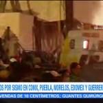 Peña Nieto Acude Zona Emergencia Colegio Rébsamen
