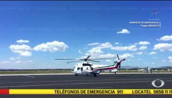 EPN viajaba en helicóptero hacia Oaxaca cuando tembló en la CDMX