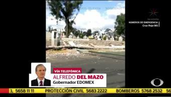 Asciende a 12 el número muertos en Estado de México por sismo