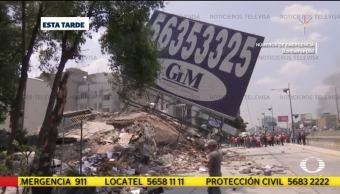 20 Personas Atrapadas Edificio Condesa