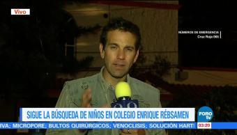 Ascienden a 37 personas fallecidas en colegio Enrique Rébsamen