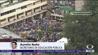 Nuño: Más de dos mil escuelas afectadas tras sismo