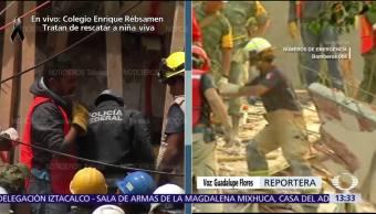 Realizan bloqueos intermitentes en Calzada de Tlalpan, CDMX, por labores de rescate