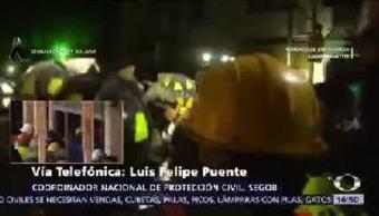 Aumenta 230 personas cifra de muertos por el terremoto Luis Felipe Puente